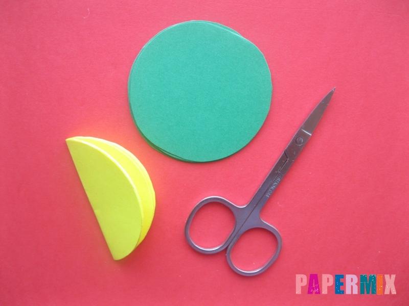 Как сделать объемный шар из бумаги на Новый год - шаг 3
