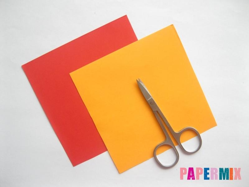 Как сделать конверт-валентинку своими руками из бумаги - шаг 2