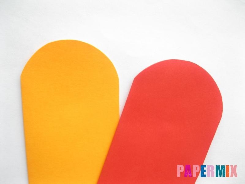 Как сделать конверт-валентинку своими руками из бумаги - шаг 4