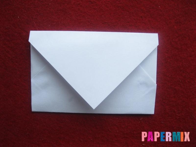 Как сделать конверт для Деда Мороза своими руками - шаг 1