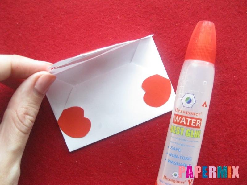 Как сделать конверт для Деда Мороза своими руками - шаг 5