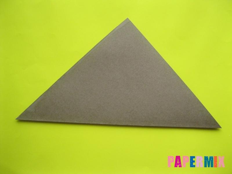 Как сделать конверт в виде оленя своими руками поэтапно - шаг 2