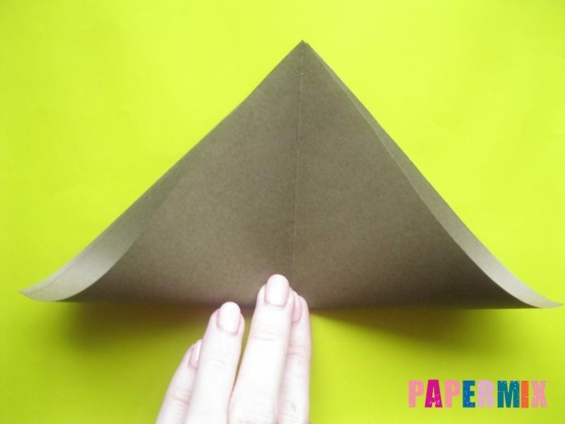 Как сделать конверт в виде оленя своими руками поэтапно - шаг 3