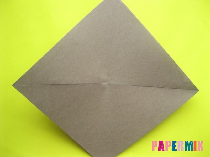 Как сделать конверт в виде оленя своими руками поэтапно - шаг 4