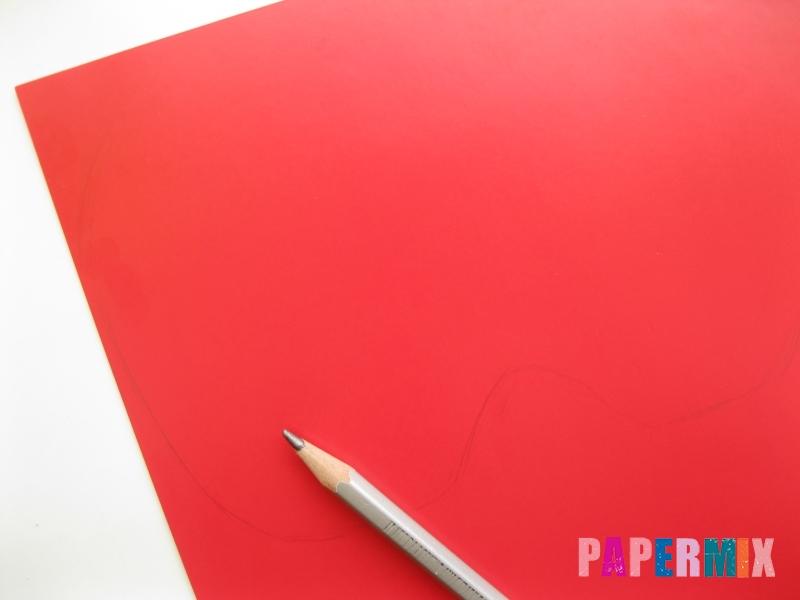 Как сделать маску тыквы на хэллоуин из бумаги своими руками - шаг 1
