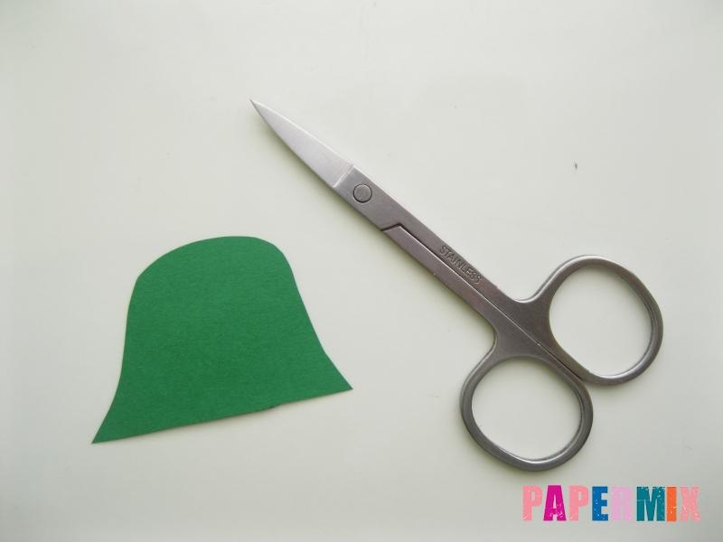 Как сделать маску тыквы на хэллоуин из бумаги своими руками - шаг 4