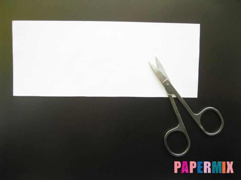 Как сделать объемное привидение из бумаги на хэллоуин - шаг 1