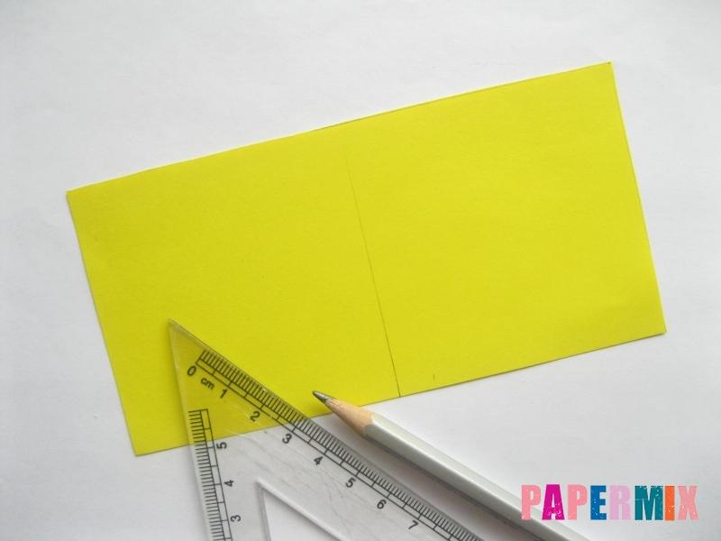 Как сделать объемную валентинку из бумаги своими руками - шаг 1