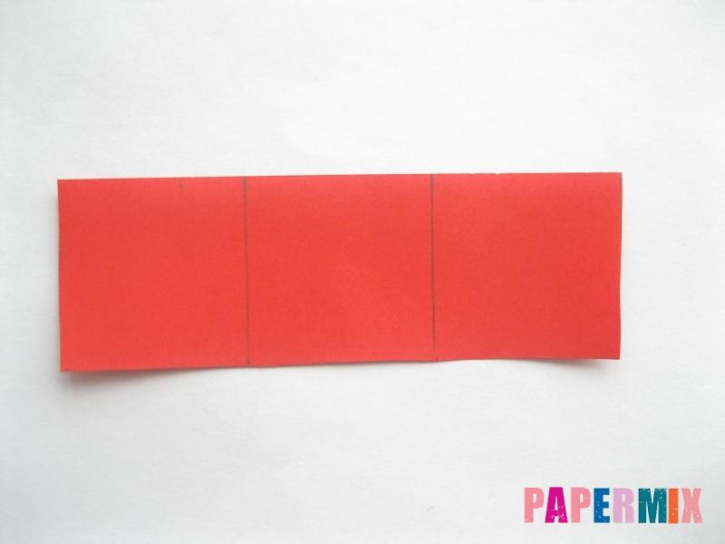 Как сделать объемную валентинку из бумаги своими руками - шаг 4