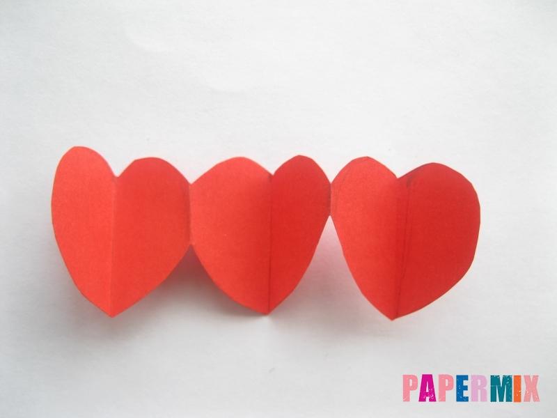 Как сделать объемную валентинку из бумаги своими руками - шаг 7
