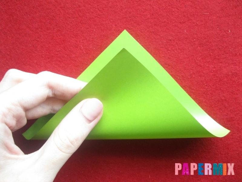 Конверт в виде Снегурочки из бумаги своими руками - шаг 2
