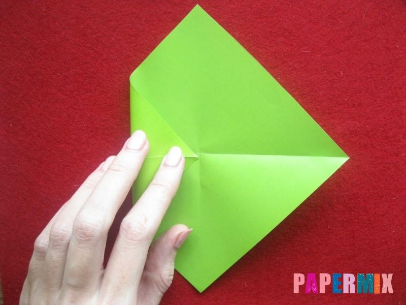 Конверт в виде Снегурочки из бумаги своими руками - шаг 4