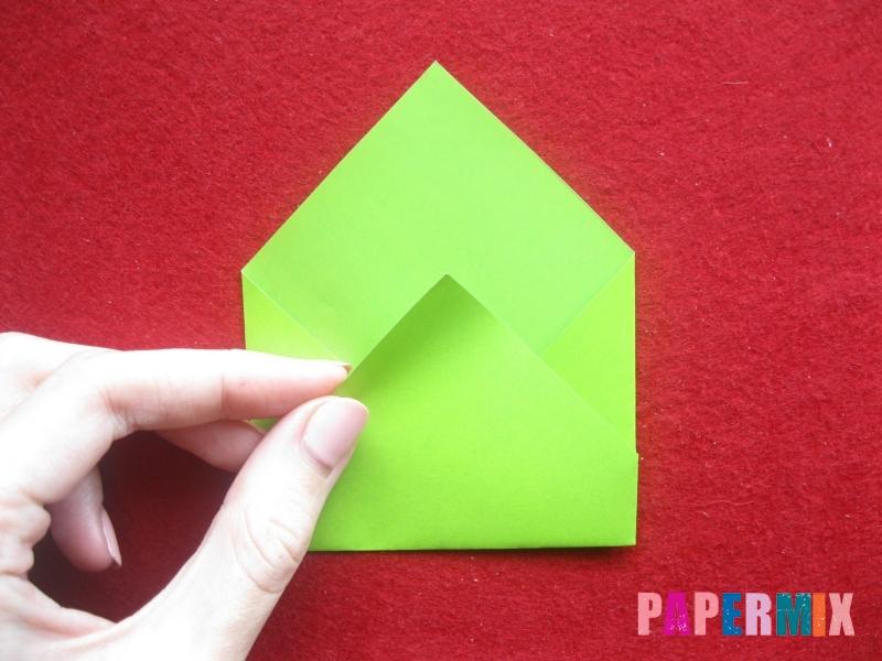 Конверт в виде Снегурочки из бумаги своими руками - шаг 6