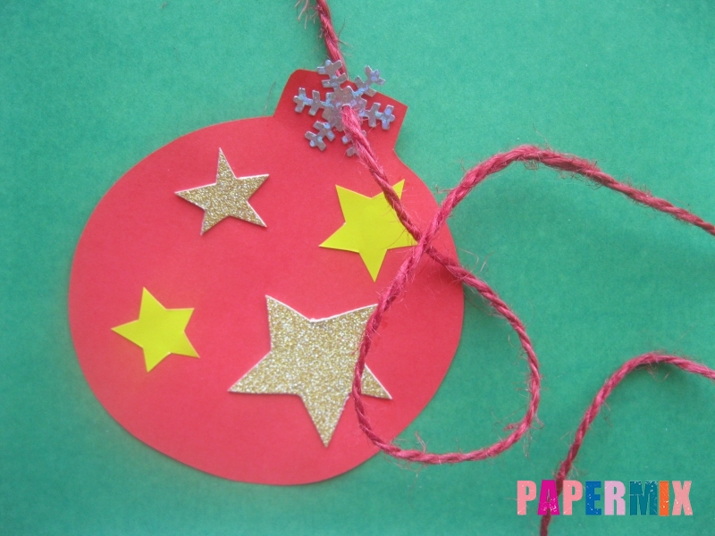 Новогодний шар из бумаги своими руками поэтапно - шаг 5