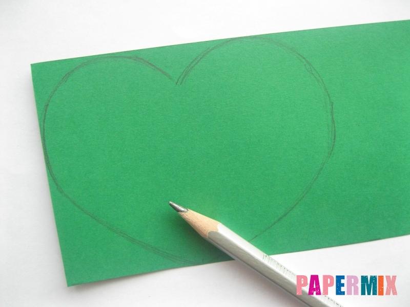 Валентинка в виде совы из бумаги своими руками - шаг 2