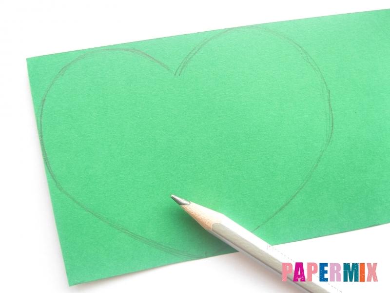 Валентинка в виде совы из бумаги своими руками - шаг 5