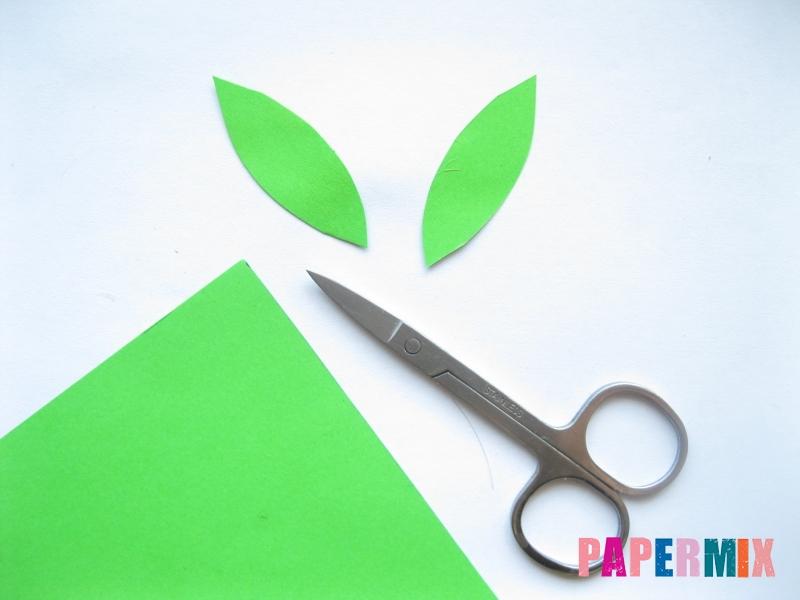 Как легко сделать хризантему из бумаги поэтапно - шаг 11