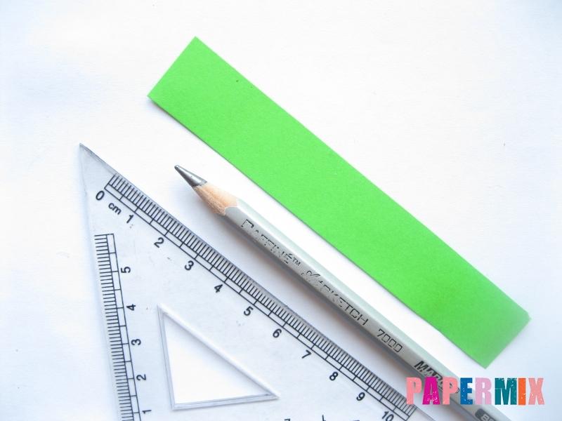 Как легко сделать хризантему из бумаги поэтапно - шаг 8