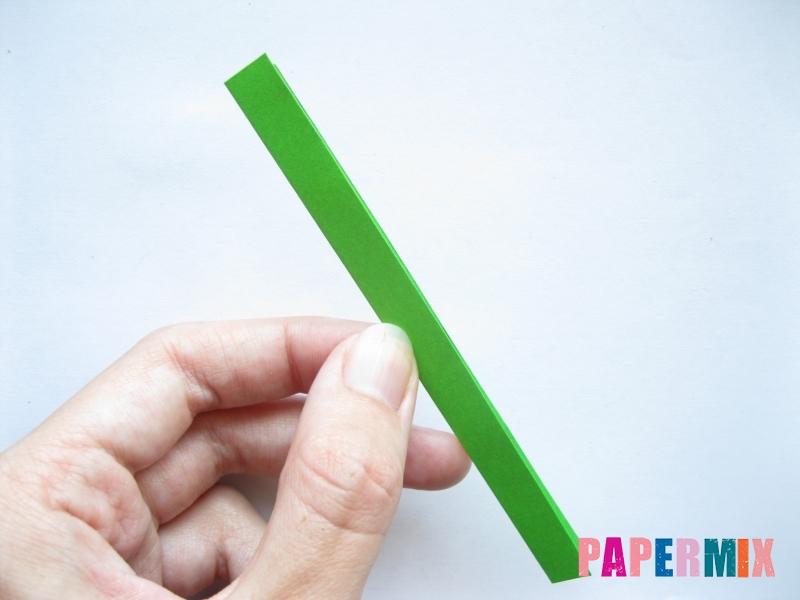 Как легко сделать хризантему из бумаги поэтапно - шаг 9