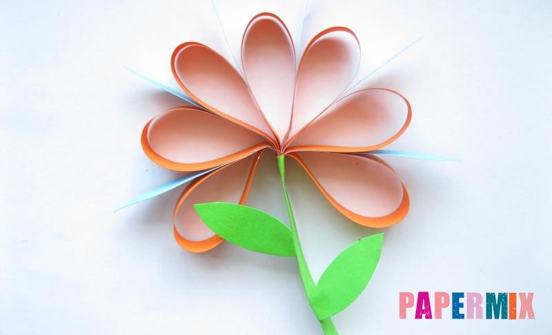 Как легко сделать хризантему из бумаги своими руками поэтапно