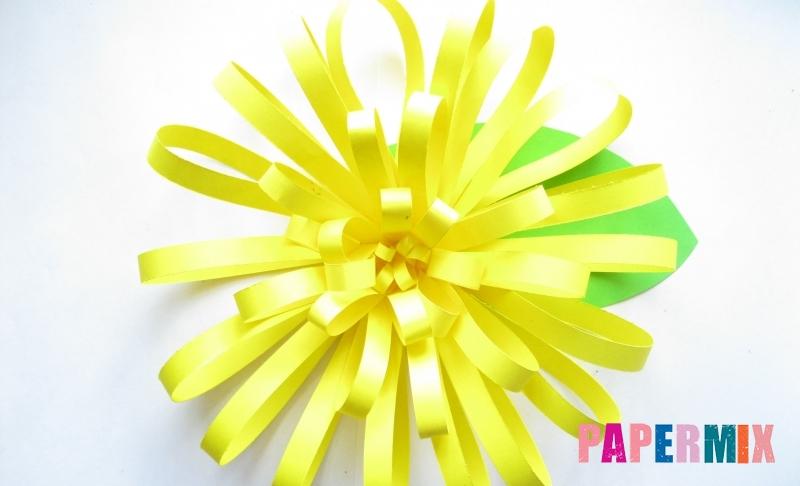 Как сделать цветок астру из бумаги своими руками поэтапно