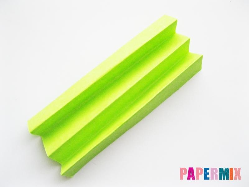 Как сделать цветы гиацинты из цветной бумаги поэтапно - шаг 11