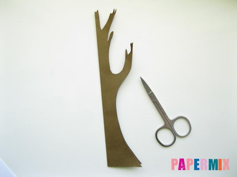 Как сделать дуб из бумаги своими руками - шаг 2