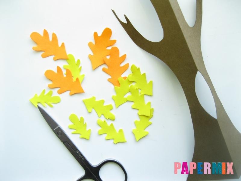 Как сделать дуб из бумаги своими руками - шаг 6