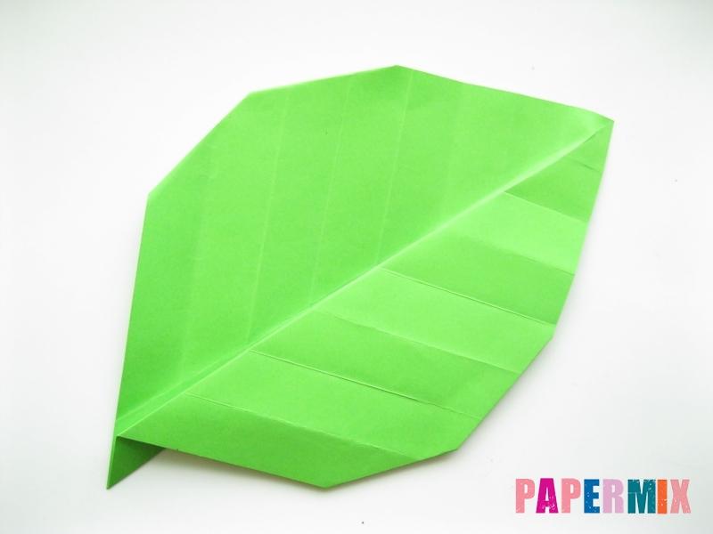 Как сделать листья из бумаги своими руками - шаг 13