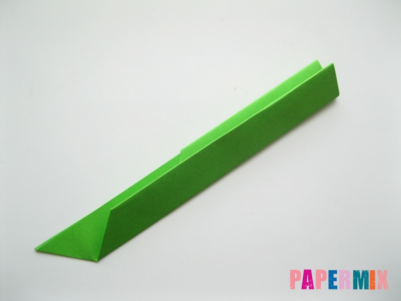 Как сделать листья из бумаги своими руками - шаг 5