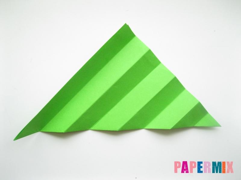 Как сделать листья из бумаги своими руками - шаг 9