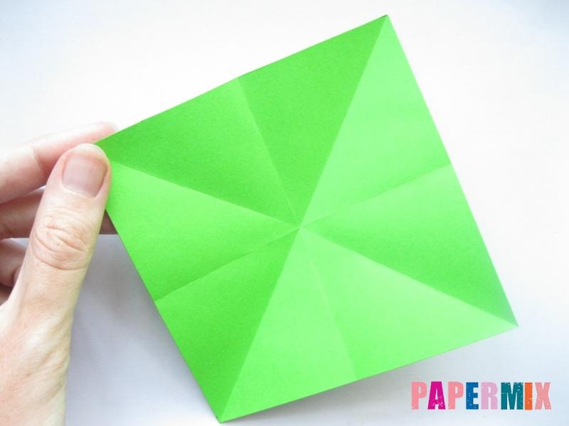 Как сделать пальму из бумаги (оригами) поэтапно - шаг 1