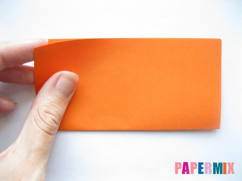 Как сделать пальму из бумаги (оригами) поэтапно - шаг 11