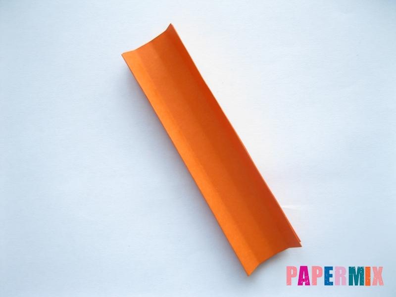 Как сделать пальму из бумаги (оригами) поэтапно - шаг 15