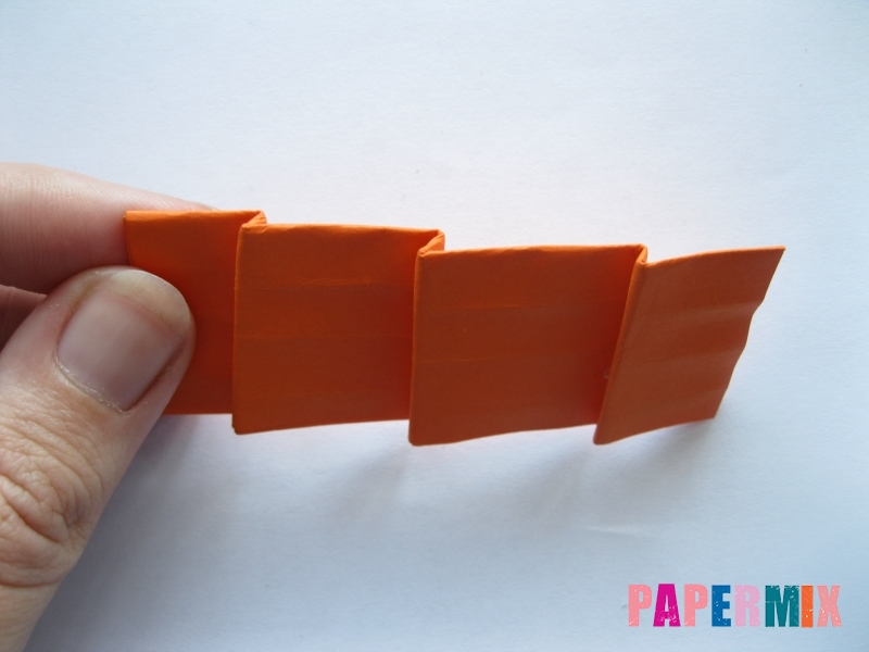 Как сделать пальму из бумаги (оригами) поэтапно - шаг 17