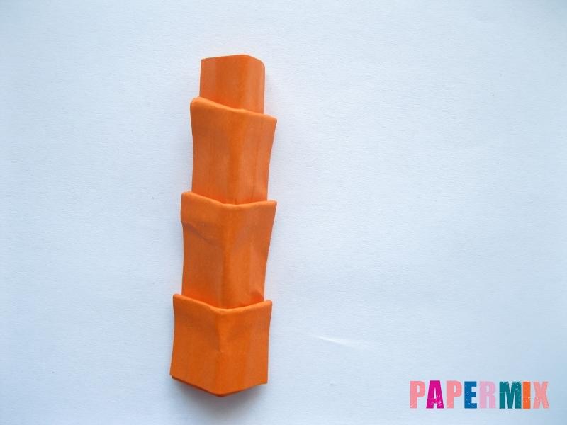 Как сделать пальму из бумаги (оригами) поэтапно - шаг 18