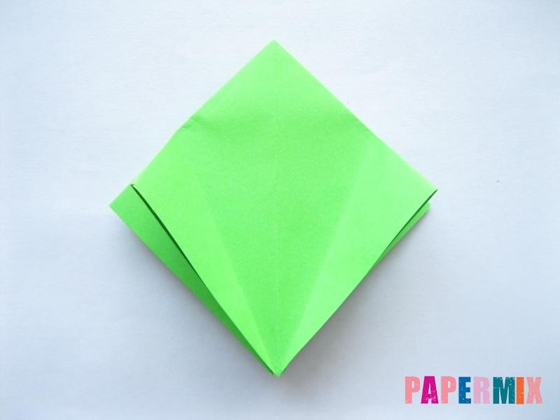 Как сделать пальму из бумаги (оригами) поэтапно - шаг 4