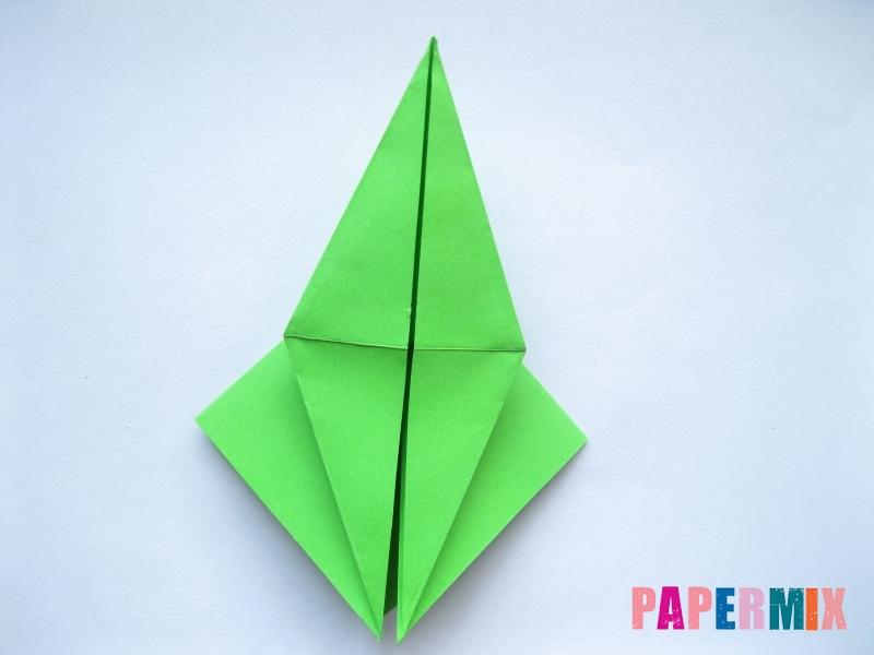 Как сделать пальму из бумаги (оригами) поэтапно - шаг 5
