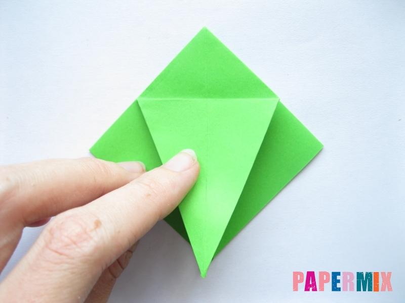 Как сделать пальму из бумаги (оригами) поэтапно - шаг 6