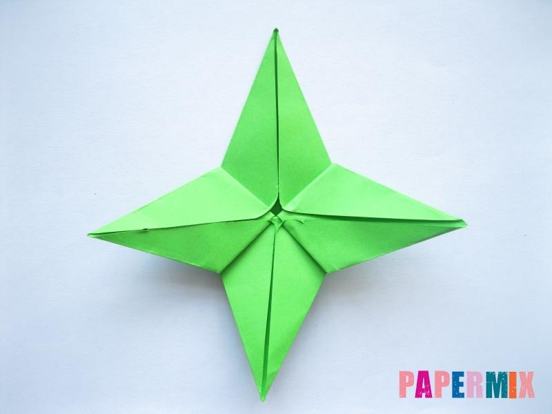 Как сделать пальму из бумаги (оригами) поэтапно - шаг 8