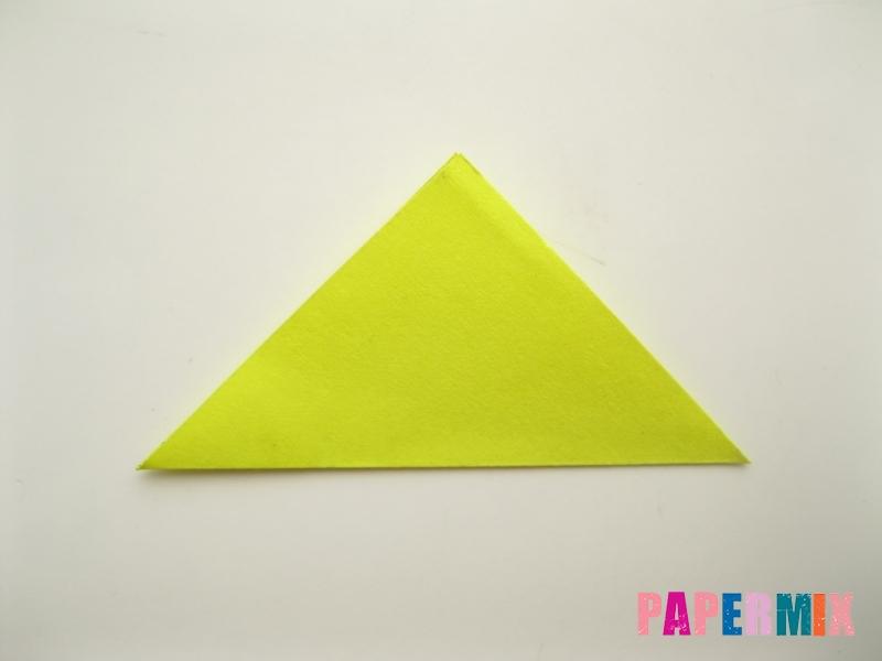 Как сделать подсолнух (оригами) своими руками - шаг 2