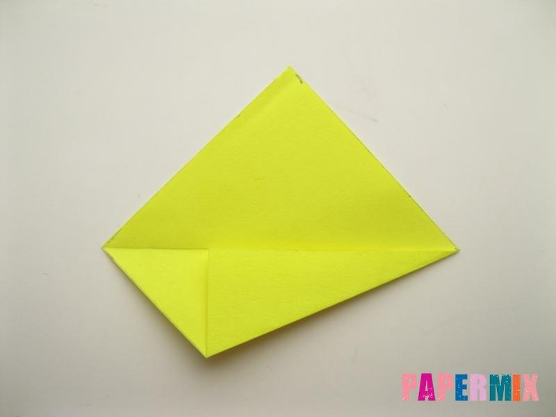 Как сделать подсолнух (оригами) своими руками - шаг 4