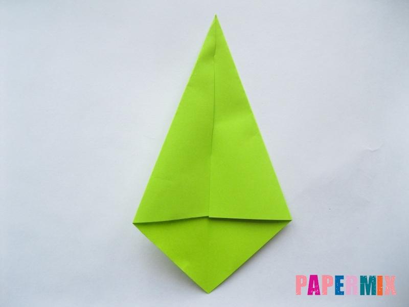 Как сделать простой тюльпан из бумаги поэтапно - шаг 13