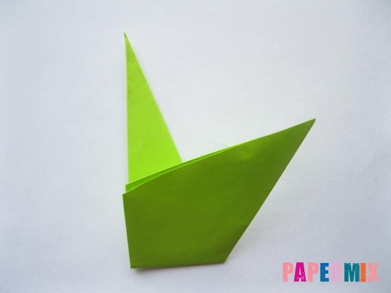 Как сделать простой тюльпан из бумаги поэтапно - шаг 15