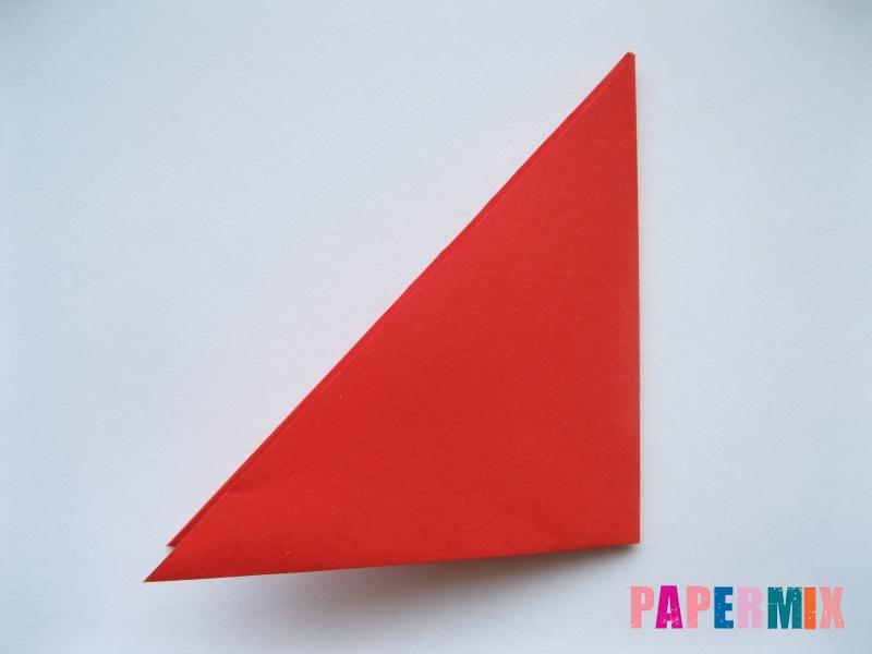 Как сделать простой тюльпан из бумаги поэтапно - шаг 3