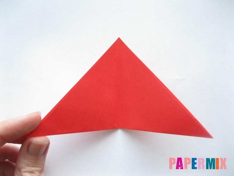 Как сделать простой тюльпан из бумаги поэтапно - шаг 4