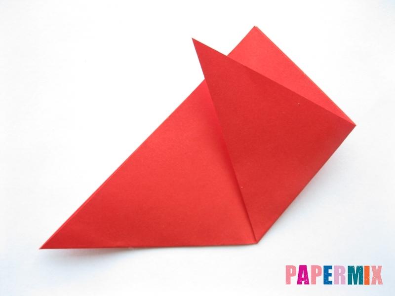 Как сделать простой тюльпан из бумаги поэтапно - шаг 5
