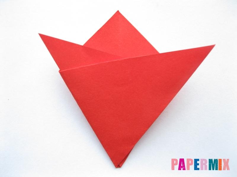 Как сделать простой тюльпан из бумаги поэтапно - шаг 6