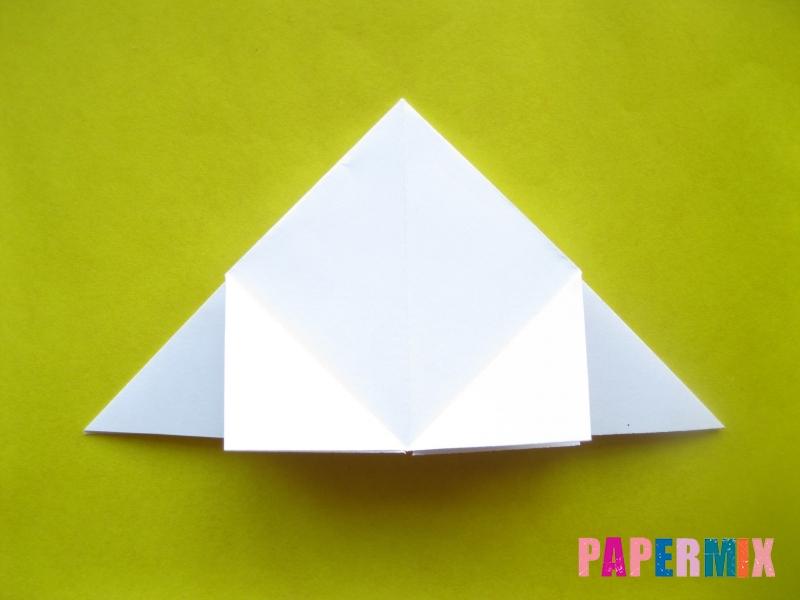 Как сделать розу из бумаги (оригами) поэтапно - шаг 10