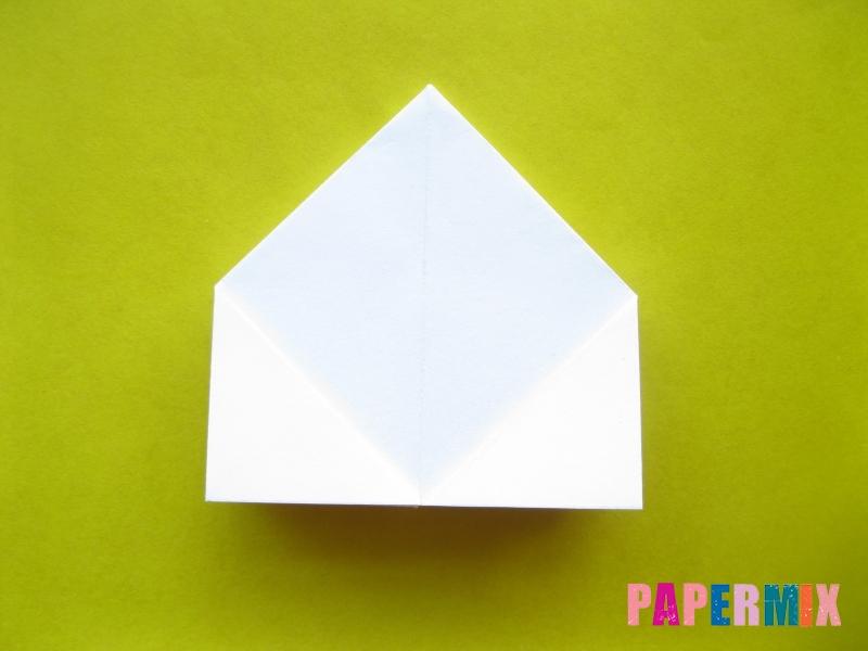 Как сделать розу из бумаги (оригами) поэтапно - шаг 11